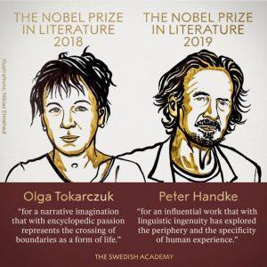 Premi Nobel per la Letteratura 2018 e 2019
