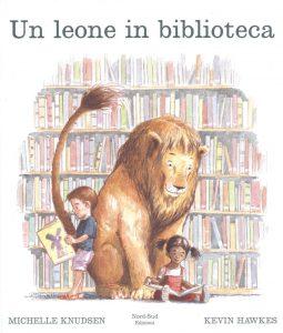 Copertina Un leone in biblioteca